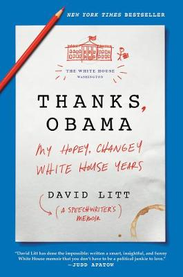 Thanks, Obama | David Litt | 9780062568458
