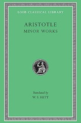 Minor Works - On Things Heard, Physiognomicson Plants L307 V14 (Trans. Hett)(Greek) | Aristotle | 9780674993389