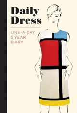 Daily dress (guided journal): a line-a-day 5 year diary | Met | 9781419726781