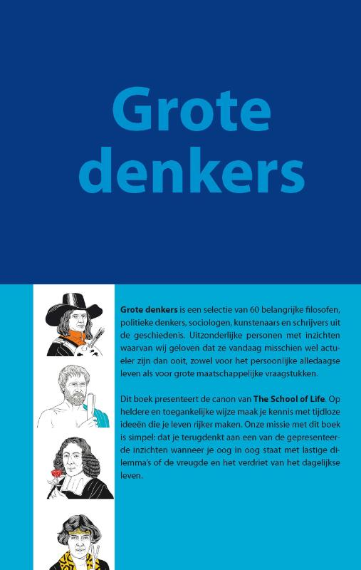 The School of Life. Grote denkers | School of Life |