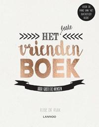 Het beste vriendenboek   Elise De Rijck  