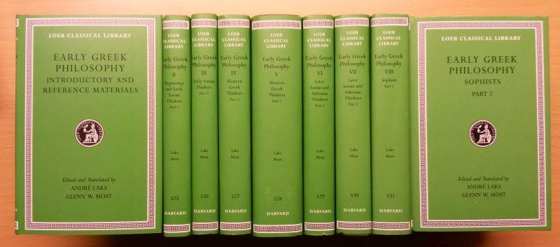 Early Greek Philosophy, 9 volumes | André, Laks& Glenn, Most | 2001000035373