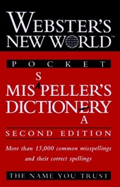 Webster's New WorldTM Misspeller's Dictionary (Pocket)