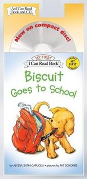Biscuit Goes to School Book and CD [With CD]