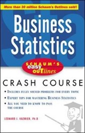 Schaum's Easy Outlines Business Statistics