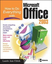 How to Do Everything with Microsoft Office