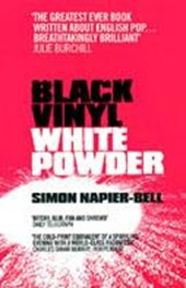 Black Vinyl  White Powder