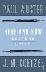 Here and Now | J M Coetzee |