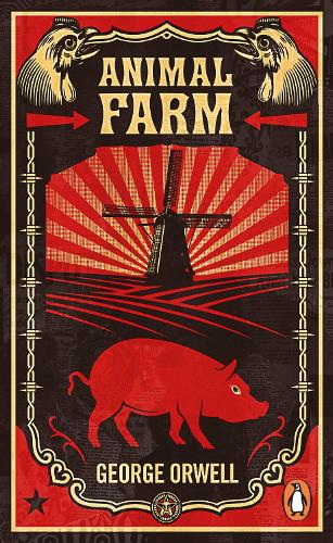 Animal farm (shepard fairey cover) | George Orwell |