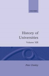 History of Universities: Volume XIII: