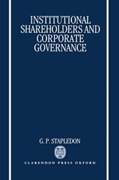 Institutional Shareholders and Corporate Governance