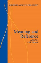 Meaning and reference