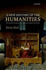A New History of the Humanities | Bod, Rens |