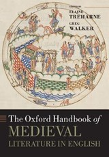 The Oxford Handbook of Medieval Literature in English | Elaine Treharne | 9780198798088