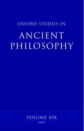 Oxford Studies in Ancient Philosophy