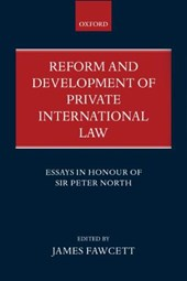 Reform and Development of Private International Law