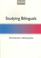 Studying Bilinguals | Francois Grosjean |