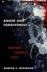 Anger and Forgiveness | Martha C. Nussbaum | 9780199335879