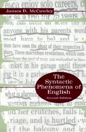 The Synactic Phenomena of English