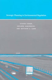 Strategic Planning in Environmental Regulation - A Policy Approach that Works