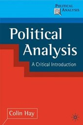 Political Analysis: Contemporary Controversies