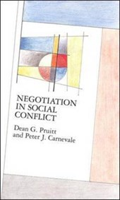 Negotiation in social conflict