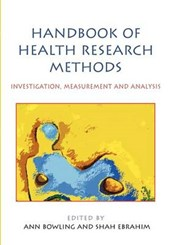 Handbook of Health Research Methods: Investigation, Measurem