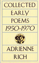 Collected Early Poems 1950-1970 | Adrienne Rich | 9780393313857