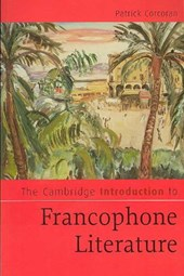 Cambridge Introduction to Francophone Literature