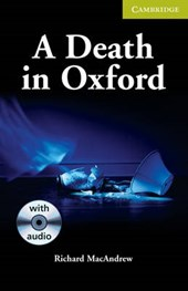 A Death in Oxford [With CD]