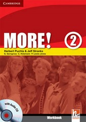 More! Level 2 Workbook with Audio CD [With CD]