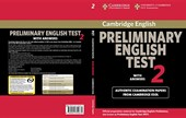 Cambridge Preliminary English Test 2 With Answers