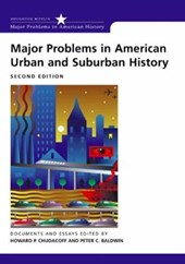 Major Problems in American Urban and Suburban History