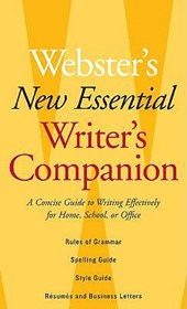 Webster's New Essential Writer's Companion