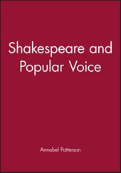 Shakespeare and Popular Voice