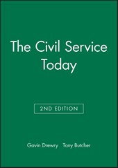 The Civil Service Today