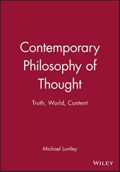 Contemporary Philosophy of Thought