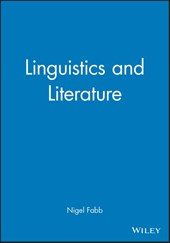 Linguistics and Literature