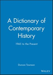 A Dictionary of Contemporary History
