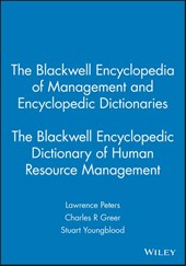 The Blackwell Encyclopedia of Management and Encyclopedic Dictionaries