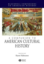 A Companion to American Cultural History
