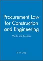 Procurement Law for Construction and Engineering