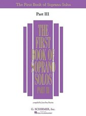 First Book of Soprano Solos