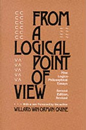 From a Logical Point of View - Nine Logical Philosophical Essays Rev (Paper)