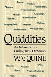 Quiddities - An Intermittently Philosophical Dictionary (Paper)