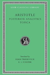 Posterior Analytics - Topica L391 V 2 (Trans. Tredennick)(Greek) | Janet Aristotle | 9780674994300
