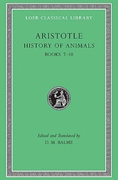 History of Animals Books L439 VII-X  (Trans. Peck) (Greek)