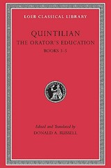 The Orators Education V 2 Books 3-5 L125 (Trans. Russell)(Latin) | Quintilian |