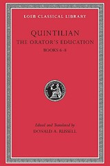 The Orators Education V 3 Books 6-8 L126 (Trans. Russell)(Latin) | Quintilian |