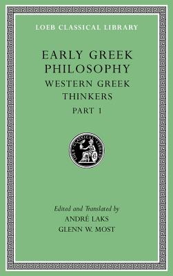 Early Greek Philosophy, Volume Iv | Glenn W. Most | 9780674996922